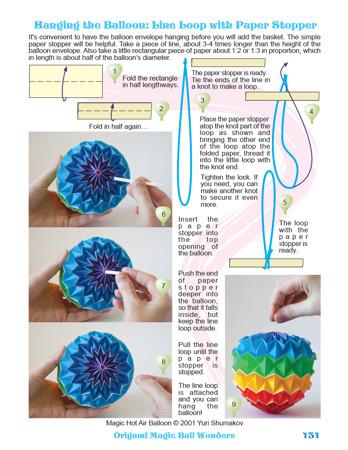 Modular Origami - balls and polyhedra folded by Michał Kosmulski | 450x348