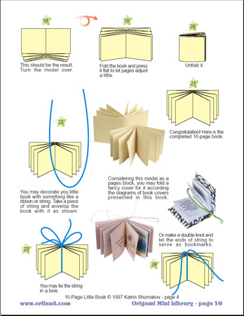 How to Make an Origami Pamphlet | Book origami, Book making, Book ... | 450x348